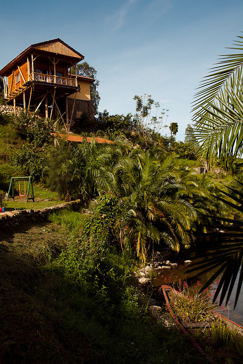 Cormoran Lodge, on the shores of lake Kivu, Rwanda.