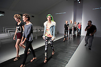 London, 17 September 2013<br /> LONDON FASHION WEEK<br /> DESIGNER NAME: Maria Grachvogel<br /> <br /> BACKGROUND:  &ldquo;I started cutting and making clothes from around the age of 12, when I learned the basics of pattern cutting and assembly at school in the Fashion and Textiles class. Then my own fascination for cut, form and drape led me to develop my own blocks and cutting techniques which have been the basis of my work. It was always my dream to be a designer with my own label and I therefore started my own business when I was 18.&rdquo; <br /> <br /> SIGNATURES: &ldquo;I use unconventional methods of cutting and fitting to create clothes that work in harmony with a woman&rsquo;s body&rdquo;<br /> <br /> TRADEMARK PIECE: &ldquo;The most fabulously cut trousers, jumpsuits and my artwork prints.&rdquo;<br /> <br /> IDEAL CLIENT: &ldquo;It's all about attitude. A strong, confident woman is drawn to my collection. She has an innate sense of her own style but is also willing to trust me to try something new.&rdquo;<br /> Contact details<br /> Sales Contact<br /> <br /> Lynn Culliton<br /> lynn@pollykingandco.com<br /> Tel: +44 (0) 20 7729 8601<br /> <br /> Press Contact<br /> <br /> Katie Montgomery<br /> katie@pollykingandco.com<br /> Tel: +44 (0) 20 7713 7991