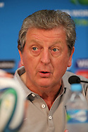 England manager Roy Hodgson speaks during the England press conference at Arena da Amazonia, Manaus, Brazil.<br /> Picture by Andrew Tobin/Focus Images Ltd +44 7710 761829<br /> 13/06/2014