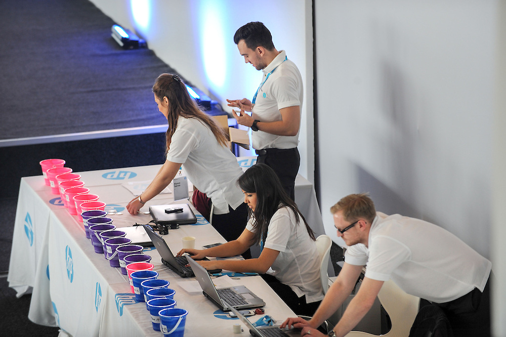 PPS Energizer 2014 event with HP, Intel, Microsoft and AMD, at the Silverstone Circuit, in Northamptonshire, UK.