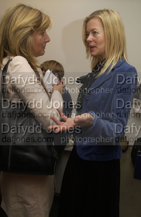 Princess Chantal of Hanover and Lady Helen Taylorr. Richard Patterson: Paintings from Dallas.  Timothy Taylor Gallery. Dering St.  London. 21 October 2005. ONE TIME USE ONLY - DO NOT ARCHIVE © Copyright Photograph by Dafydd Jones 66 Stockwell Park Rd. London SW9 0DA Tel 020 7733 0108 www.dafjones.com