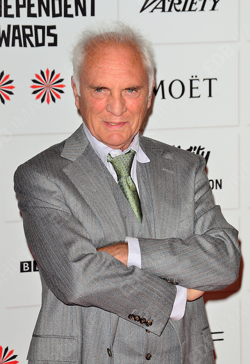 09.DECEMBER.2012. LONDON<br /> <br /> TERENCE STAMP ATTENDS THE BRITISH INDEPENDENT FILM AWARDS AT OLD BILLINGSGATE MARKET. <br /> <br /> BYLINE: JOE ALVAREZ/EDBIMAGEARCHIVE.CO.UK<br /> <br /> *THIS IMAGE IS STRICTLY FOR UK NEWSPAPERS AND MAGAZINES ONLY*<br /> *FOR WORLD WIDE SALES AND WEB USE PLEASE CONTACT EDBIMAGEARCHIVE - 0208 954 5968*
