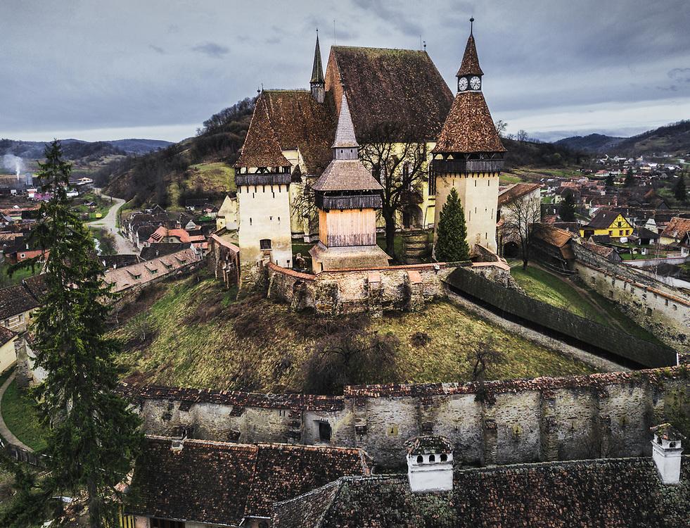 The Fortified Church of Biertan, Romania