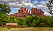 park in Sedona,Arizonia