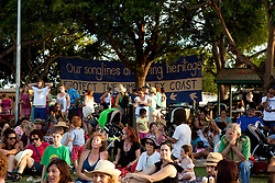 The crowd at the Broome community rally Town Beach 2011