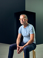 Portrait of Belgian artist. David Claerbout at the Kunsthaus Bregenz.