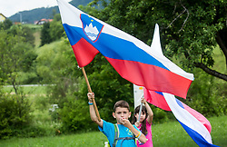 Spectators during Stage 3 of 24th Tour of Slovenia 2017 / Tour de Slovenie from Celje to Rogla (167,7 km) cycling race on June 16, 2017 in Slovenia. Photo by Vid Ponikvar / Sportida