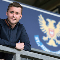St Johnstone's Tam Scobbie pictured at McDiarmid Park ahead of this weekend's last game of the season against Aberdeen...21.05.15<br /> Picture by Graeme Hart.<br /> Copyright Perthshire Picture Agency<br /> Tel: 01738 623350  Mobile: 07990 594431