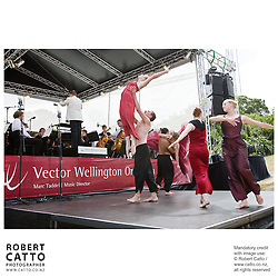 The Vector Wellington Orchestra with conductor Marc Taddei and Footnote Dance perform An Afternoon In St Petersburg, a concert of Russian music, at Government House in Wellington, New Zealand.