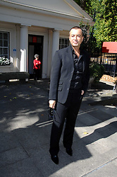 JULIEN MACDONALD at the memorial service of Isabella Blow held at the Guards Chapel, London W1 on 18th September 2007.<br /><br />NON EXCLUSIVE - WORLD RIGHTS
