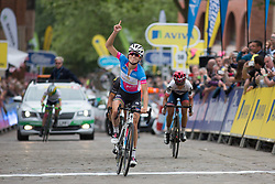 Lizzie Armitstead (GBR) of Boels-Dolmans Cycling Team wins the Aviva Women's Tour 2016 - Stage 3. A 109.6 km road race from Ashbourne to Chesterfield, UK on June 17th 2016.