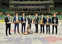 2015-16 CHL Award Winners at the ENMAX Centrium in Red Deer, Alberta on Saturday May 28, 2016. Photo by Terry Wilson / CHL Images.