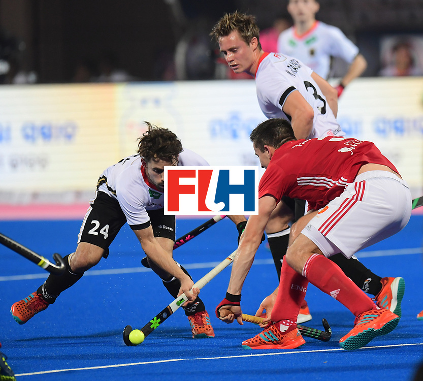 Odisha Men's Hockey World League Final Bhubaneswar 2017<br /> Match id:01<br /> Germany v England<br /> Foto: F&Uuml;RK Benedikt<br /> .WORLDSPORTPICS COPYRIGHT FRANK UIJLENBROEK