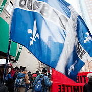 students demonstration Montreal