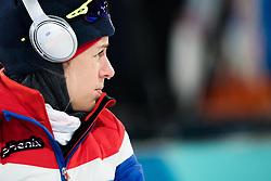February 12, 2018 - Pyeongchang, SOUTH KOREA - 180212 Tiril Eckhoff of Norway competes in the Women's Biathlon 10km Pursuit during day three of the 2018 Winter Olympics on February 12, 2018 in Pyeongchang..Photo: Jon Olav Nesvold / BILDBYRN / kod JE / 160156 (Credit Image: © Jon Olav Nesvold/Bildbyran via ZUMA Press)