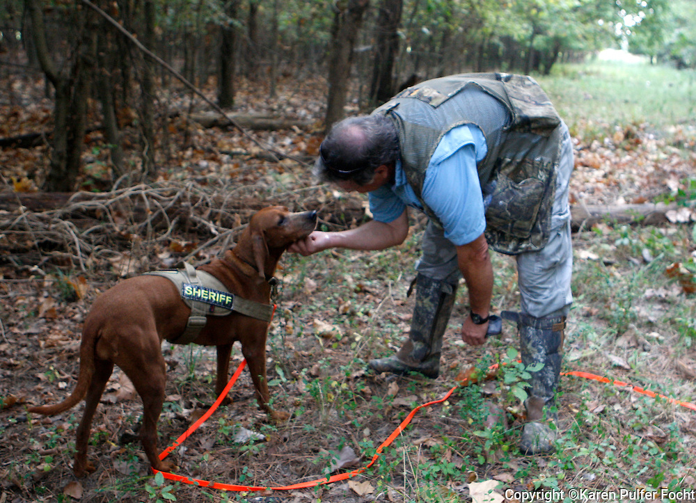 Eugene Smith is trained to do search and rescue with his dogs. Smith is a Emt-R & K-9 Search and Rescue Unit Officer at Shelby Co. Sheriff's Officer in Tennessee.