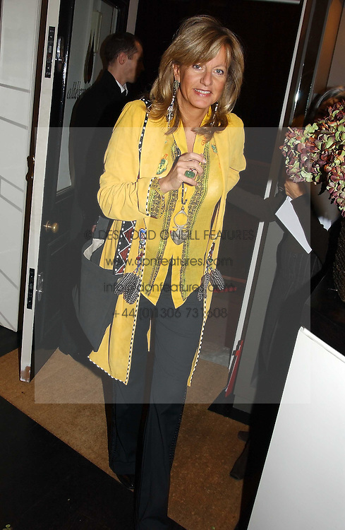 PRINCESS CHANTAL OF HANOVER at a jewellery party hosted by Osanna Visconti and Pia Marocco at Allegra Hick's shop, 28 Cadogan Place, London on 25th November 2004.<br /><br />NON EXCLUSIVE - WORLD RIGHTS
