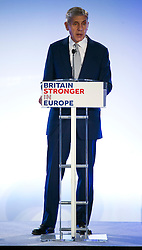 © Licensed to London News Pictures. 12/10/2015. London, UK. LORD ROSE speaking at the event. The launch of the Britain Stronger in Europe campaign at the Truman Building in London. The campaign is being by led by Former M&S chairman, Lord Stuart Rose. Photo credit: Ben Cawthra/LNP