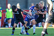 Ji So-Yun (Chelsea) during the FA Women's Super League match between Brighton and Hove Albion Women and Chelsea at The People's Pension Stadium, Crawley, England on 15 September 2019.