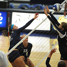 CU Volleyball vs Hillsdale College 9.6.2013