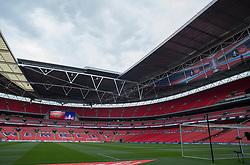General view inside the Wembley stadium.  - Mandatory by-line: Alex James/JMP - 23/04/2016 - FOOTBALL - Wembley Stadium - London, England - Everton v Manchester United - The Emirates FA Cup Semi-Final