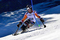KAMPSCHREUR Jeroen, LW12-2, NED, Slalom at the WPAS_2019 Alpine Skiing World Cup, La Molina, Spain