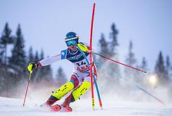 11.02.2019, Aare, SWE, FIS Weltmeisterschaften Ski Alpin, alpine Kombination, Herren, Slalom, im Bild Niels Hintermann (SUI) // Niels Hintermann of Switzerland reacts after the Slalom competition of the men's alpine combination for the FIS Ski World Championships 2019. Aare, Sweden on 2019/02/11. EXPA Pictures © 2019, PhotoCredit: EXPA/ Johann Groder