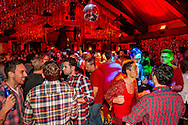 Party at the Sundeck during Gay Ski Week in Aspen, Colorado.