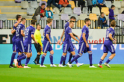 Players of NK Maribor during football match between NK Maribor and NK Domzale in 9th Round of Prva liga Telekom Slovenije 2018/19, on August 05, 2018 in Ljudski vrt, Maribor, Slovenia. Photo by Mario Horvat / Sportida