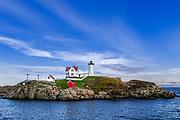 Nubble Light, Cape Neddick, York, Maine, USA.