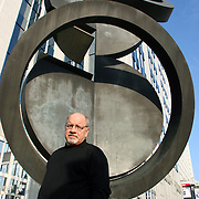 Director Paul Schrader photographed in Brussels for the Times