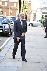 HRH PRINCE MICHAEL OF KENT arriving at a reception for the Castle of Mey held at the Goring Hotel, London on 19th May 2009.
