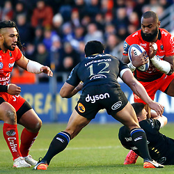 Semi Radradra of Toulon during the European Champions Cup match between RC Toulon and Bath on December 9, 2017 in Toulon, France. (Photo by Guillaume Ruoppolo/Icon Sport)