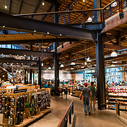 Interior of the REI in Seattle