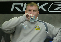 Photo: Aidan Ellis.<br /> Bolton Wanderers v Wigan Athletic. The Barclays Premiership. 04/11/2006.<br /> Wigan manager Paul Jewell