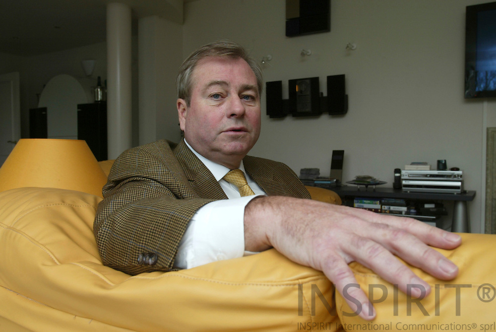 BRUSSELS - BELGIUM - 19 FEBRUARY 2006 -- Pieter AHL, son till grundaren av KappAhl. PHOTO: ERIK LUNTANG /