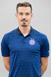 16.07.2019, Generali Arena, Wien, AUT, 1. FBL, FK Austria Wien, Fototermin, im Bild Physiotherapeut Florian Metz // Florian Metz during the official team and portrait photoshooting of tipico Bundesliga Club FK Austria Wien for the upcoming Season at the Generali Arena in Vienna, Austria on 2019/07/16. EXPA Pictures © 2019, PhotoCredit: EXPA/ Florian Schroetter