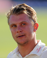 Durham's Scott Borthwick - Photo mandatory by-line: Harry Trump/JMP - Mobile: 07966 386802 - 14/04/15 - SPORT - CRICKET - LVCC County Championship - Day 3 - Somerset v Durham - The County Ground, Taunton, England.