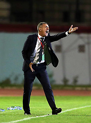 June 7, 2017 - Blida, Algiers, Algeria - Lucas Alcaraz  coach of the Algerian team during Friendly Match Algeria vs Guinea at the Mustapha Tchaker Stadium in Blida, Algeria, on 6 June 2017. (Credit Image: © Billal Bensalem/NurPhoto via ZUMA Press)