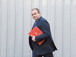 Edward Davey MP arriving for meeting  at 10 Downing Street .London Great Britain, 5th February 2013. Photo by Elliott Franks / i-Images.