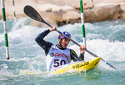 Kauzer Peter ml. (BD Steklarna Hrastnik) during ICF Canoe Slalom Ranking Race Tacen 2018, on April 8, 2018 in Ljubljana, Slovenia. Photo by Urban Meglic / Sportida