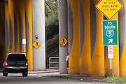 Interstate 5, entrance, Seattle, Washington