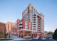 Virginia Architectural image of Union on Queen apts in Arlington Virginia by Jeffrey Sauers of  Commercial Photographics, Architectural Photo Artistry in Washington DC, Virginia to Florida and PA to New England
