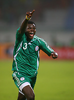 Ismaila Taiwo Taye Celebrates Scoring winning goal <br />