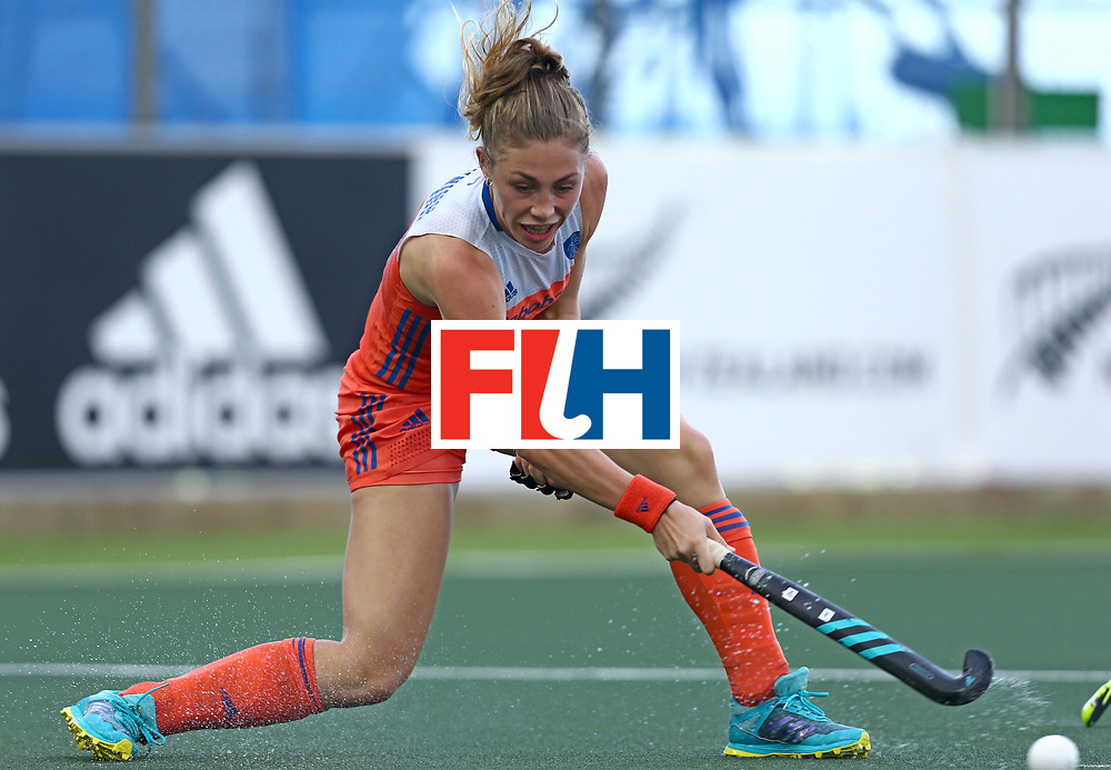 New Zealand, Auckland - 20/11/17  <br /> Sentinel Homes Women&rsquo;s Hockey World League Final<br /> Harbour Hockey Stadium<br /> Copyrigth: Worldsportpics, Rodrigo Jaramillo<br /> Match ID: 10299 - NED vs KOR<br /> Photo: (20) NUNNINK Laura