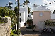 Street scene in St George Bermuda