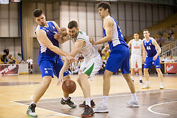 Drazen Bubnic of KK Petrol Olimpija Ljubljana during basketball match between KK Petrol Olimpija and KK Sentjur in Playoffs of Liga Nova KBM 2017/18, on April 18, 2018 in Tivoli sports hall, Ljubljana, Slovenia. Photo by Urban Urbanc / Sportida