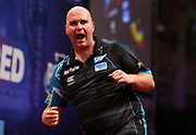 Rob Cross during the World Matchplay Darts 2019 at Winter Gardens, Blackpool, United Kingdom on 24 July 2019.