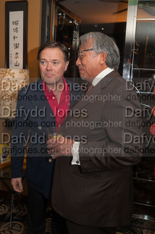HOWARD BARCLAY; SIR DAVID TANG, Chinese New Year dinner given by Sir David Tang. China Tang. Park Lane. London. 4 February 2013.