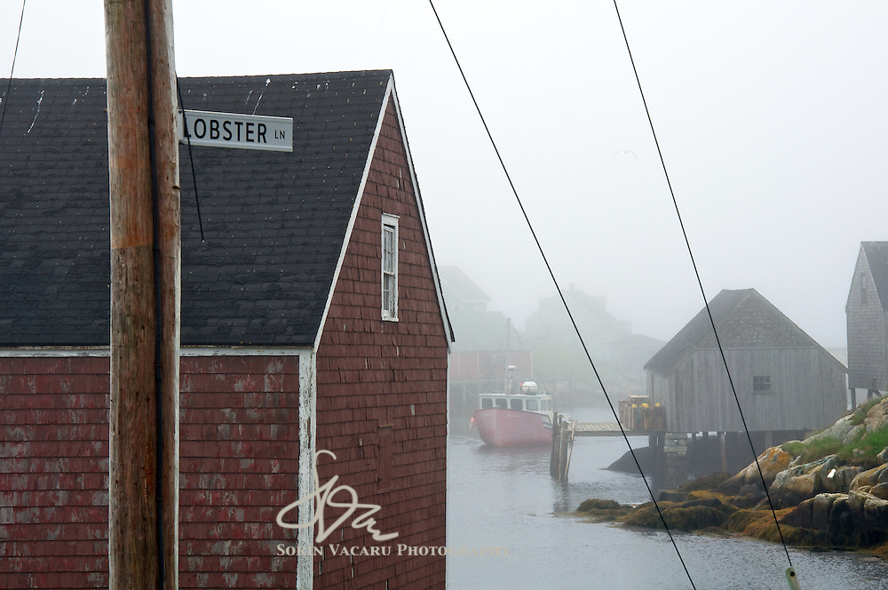 Lobster Lane in Peggys Cove